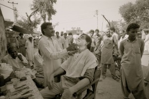Beardless in Rawalpindi. Pakistan 1987