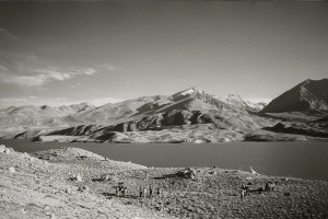 A campsite in the Pamirs, Tajikistan, 2008