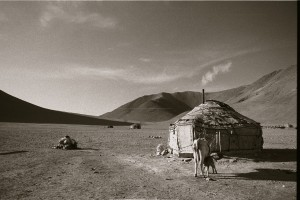 Nomads camped on the China/Tajikistan border, 2008