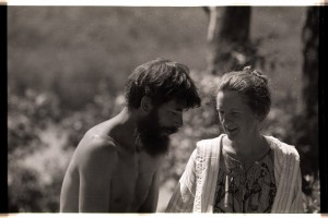 Jan & I in Assam in 1980